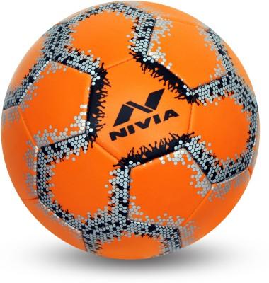 Nivia UTSAV Football   Size: 3 Pack of 1, Orange