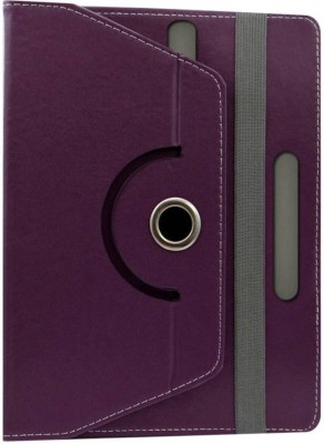 Fastway Book Cover for Swipe MTV Slash Tablet(Purple, Cases with Holder)