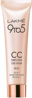Lakme Complexion Care Face Cream - Beige(30 g)  available at flipkart for Rs.283