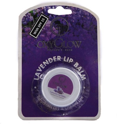OxyGlow cosmetics Lip Balm Lavender(8 g)  available at flipkart for Rs.59