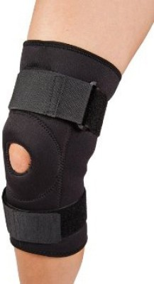AR Surgical Functional Knee Support Compression muscle Joint Protection Open Patella Hinge Brace Support Bandage Injury Guard Premium Knee Support (S, Black)  available at flipkart for Rs.280