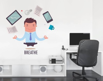 Rawpockets Breathe Infograph - Office(85 cm X cm 95, Multicolor)  available at flipkart for Rs.209