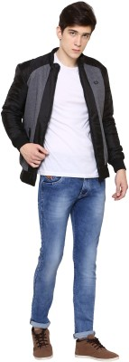 THE MENS STOP Full Sleeve Solid Men's Jacket