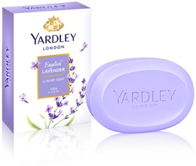 Yardley London English Lavender 100g pack of 2 luxury soap imported(100 g, Pack of 2)  available at flipkart for Rs.650