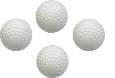 PSE Field Turf Hockey Ball -   Size: Standard(Pack of 4, White)