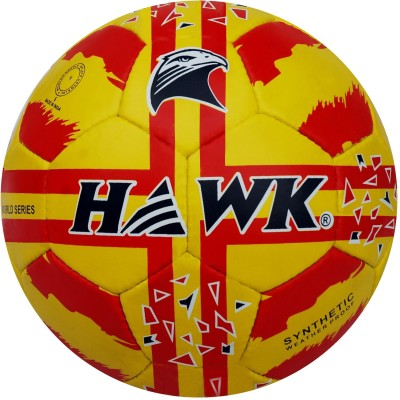HAWK Spain Football   Size: 5 Pack of 1, Multicolor