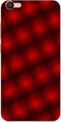 Aseria Back Cover for Slim Fit Hard Case Cover for Vivo V5/V5s/V5 Lite/Vivo Y67(Red Light Pattern, Plastic)
