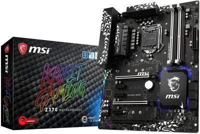 MSI Z370 KRAIT GAMING Motherboard(Black)