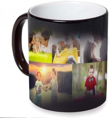 Personalized Masters 10 PHOTO CUSTOMISED COLOUR CHANGING MAGIC MUG SURPRISE GIFT Ceramic Mug(350 ml)  available at flipkart for Rs.345
