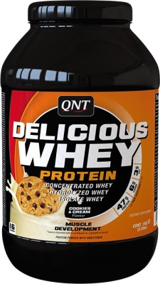 QNT Delicious Whey Whey Protein(1 kg, Cookies)