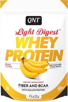 QNT Light Digest Whey Protein(500 g, Banana)