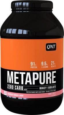QNT Metapure Zero Carb Whey Protein(1 kg, Strawberry/Banana)