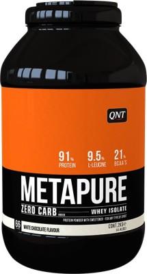 QNT Metapure Zero Carb Whey Protein(1 kg, White chocolate)