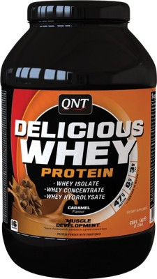 QNT Delicious Whey Whey Protein(1 kg, Caramel)