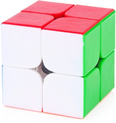 Emob 2x2 High Speed Stickerless Speedy Rubik Magic Puzzle Cube(1 Pieces)  available at flipkart for Rs.224