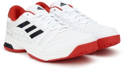 1d2888bd61fef9 25% OFF on Adidas BARRICADE COURT OC Tennis Shoes For Men(White) on  Flipkart