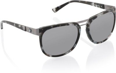 BMW Wayfarer Sunglasses(Multicolor) at flipkart