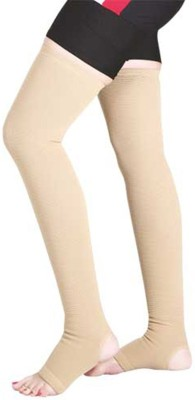 289a70613c Kudize Varicose Vein Stocking Compression Premium Thigh Length (57.5 CM TO  65 CM ) Knee