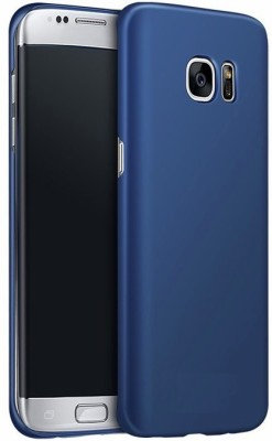 Wow Imagine Back Cover for Samsung Galaxy S7 Edge Blue Wow Imagine Plain Cases   Covers