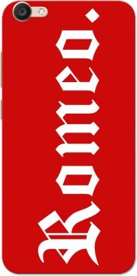 Aseria Back Cover for Vivo V5/V5s/V5 Lite/Vivo Y67(Romeo White Red, Plastic) Flipkart