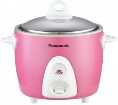 Panasonic SR G06DPK Electric Rice Cooker(0.3 L, Pink)  available at flipkart for Rs.2249