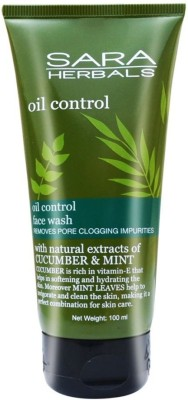 sara herbal OIL CONTROL Face Wash(100 g)  available at flipkart for Rs.150
