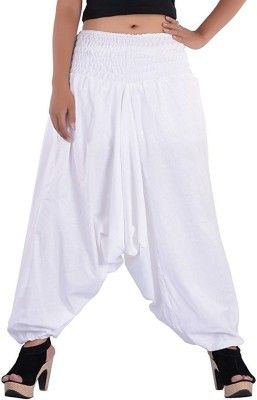 GIABELLA Solid Cotton Men's & Women's Harem Pants