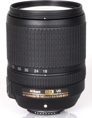NIKON AF-S DX NIKKOR 18-140mm f/3.5-5.6 G ED VR Lens(Black, 70 - 200 mm)