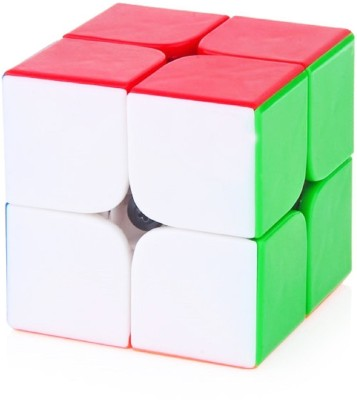 GDCREATIONS Generic 2X2 High Speed Stickerless Speedy Rubik Magic Puzzle Cube(1 Pieces)  available at flipkart for Rs.249