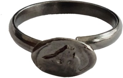 Rich & Famous Dosha Niwaran Horse Shoe/Kale Ghode Ki Naal Ka Challa For Mens/ Boys & Women Metal Ring  available at flipkart for Rs.275
