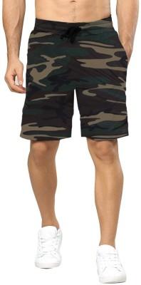 Tripr Printed Men Multicolor Regular Shorts