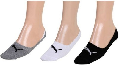 Puma Men & Women Solid Footie Socks(Pack of 3)  available at flipkart for Rs.147