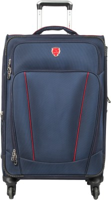 f6a3a1c83 41% OFF on emblem Platinum 24 Inch Blue Trolley Expandable Check-in Luggage  - 24 inch(Blue) on Flipkart | PaisaWapas.com