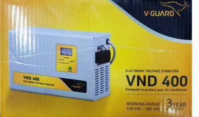 V Guard VND400 Voltage Stabilizer for 1.5 Tonn AC