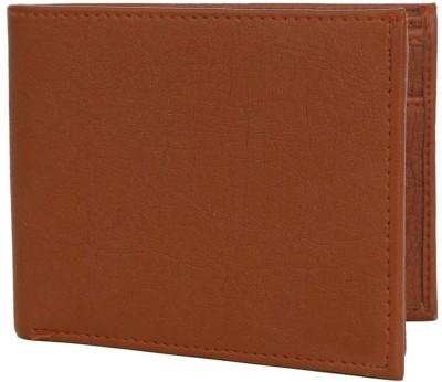 Cyclone Men Tan Genuine Leather Wallet(10 Card Slots)  available at flipkart for Rs.130
