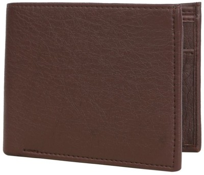 Cyclone Men Brown Genuine Leather Wallet(10 Card Slots)  available at flipkart for Rs.130