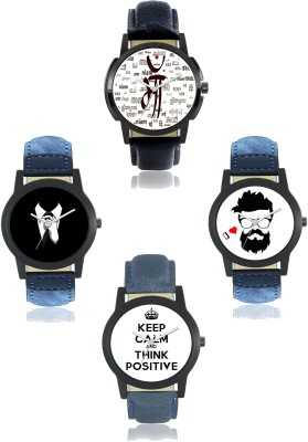 AR Sales Gentalmen Edition Combo (Pack of 4) Analog Watch  - For Men