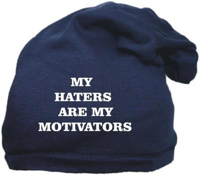FAS Solid Blue Beanie cap & skull Cap