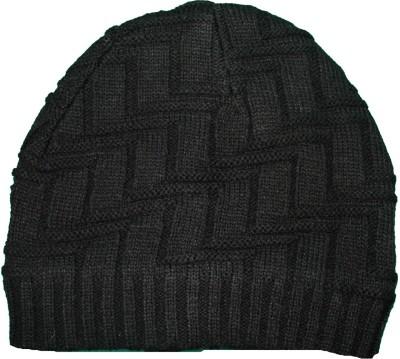 FRIENDSKART Solid Printed Men's Sports Fur Woollen winter Skull Cap Cap Cap Cap  available at flipkart for Rs.349