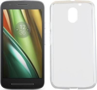4 ur Fone Back Cover for Motorola Moto E3 Power(Transparent, Rubber)