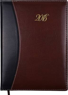 Atlas Regular Diary  (Brown_Black, Multicolor)