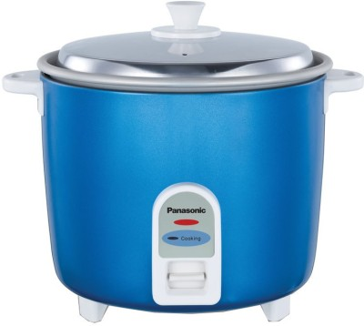 Panasonic SR-WA18(GE9)PMBL Electric Rice Cooker(0.6 L, Blue)  available at flipkart for Rs.2599