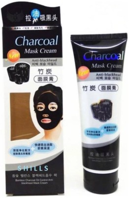 charcoal Anti-Blackhead Face Mask cream - 130g(130 ml)  available at flipkart for Rs.94