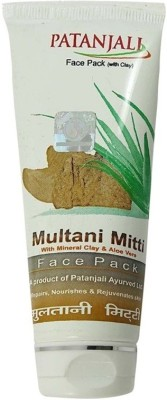 Patanjali Aloe Vera Multani Mitti Face Pack, 60 GM