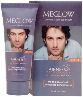 meglow premium fairness cream(30 g)  available at flipkart for Rs.75