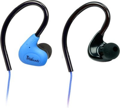 Amkette Trubeats Pulse S6 Wired Headset with Mic(Blue, In the Ear) 1