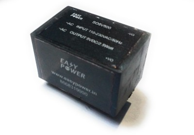 microsmps PCB mountable AC DC 5V/500mA power supply(Black)  available at flipkart for Rs.170