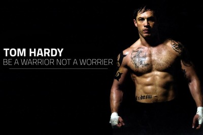 Wall Poster Be A Warrior Not A Worrier Print Poster on LARGE PRINT 36X24 INCHES Photographic Paper(36 inch X 24 inch, Rolled)