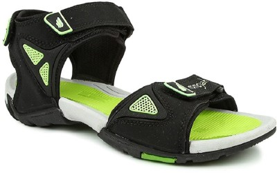 Mmojah Men Black Sandals  available at flipkart for Rs.599