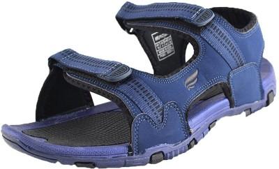 Mmojah Men Navy::Black Sandals  available at flipkart for Rs.599